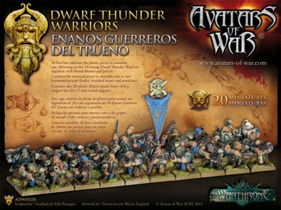 Dwarf Thunder Warriors (Rear)