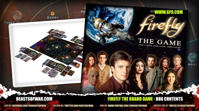 Firefly the Board Game - Box Contents