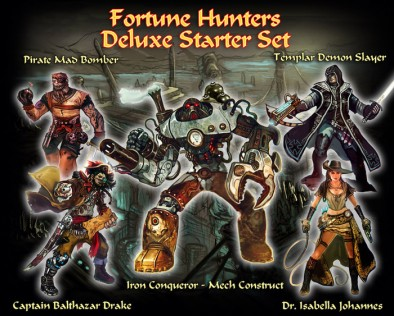 Fortune Hunters Deluxe Starter Set
