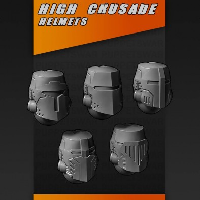 High Crusade Helmets