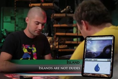 Islands are Not Dudes