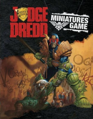 Judge Dredd Miniatures Game Rulebook Cover