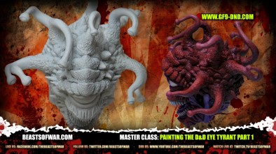Master Class: Painting the D&D Eye Tyrant Part 1