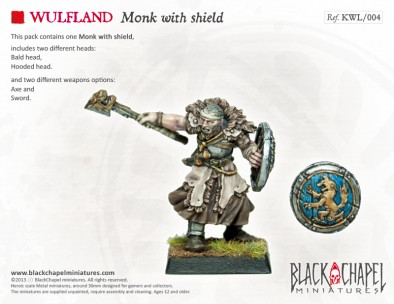 Monk with Shield