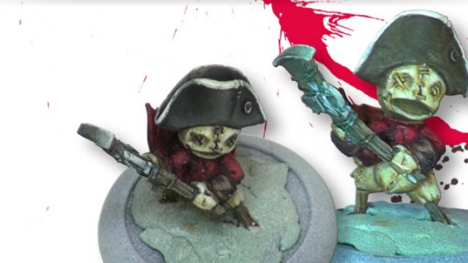 Painting A Relics Britanan Foot Soldier Part 3