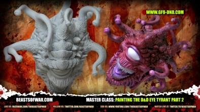 Master Class: Painting the D&D Eye Tyrant Part 2