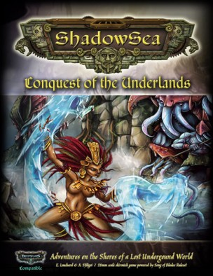 ShadowSea Conquest of the Underlands Mock Cover