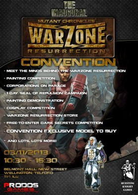 Warzone Resurrection Convention