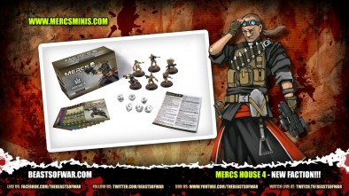 What's in the Box: MERCS House 4 - New Faction!!!