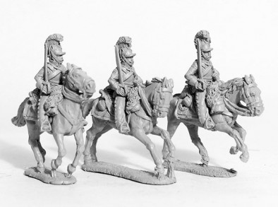 Cuirassiers With Shouldered Swords