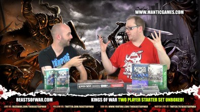 Kings of War Two Player Starter Set Unboxed!