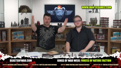 Kings of War Week: Forces of Nature Faction