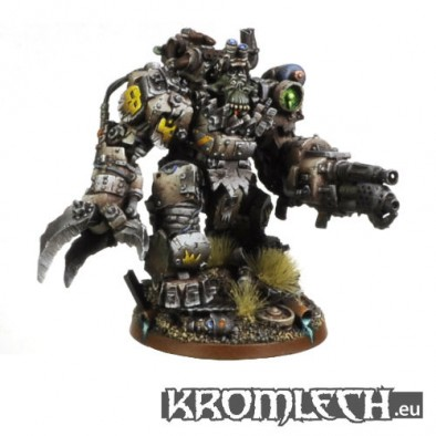 Orc Juggernaut with Flamer Painted