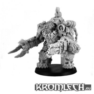 Orc Juggernaut with Flamer Unpainted