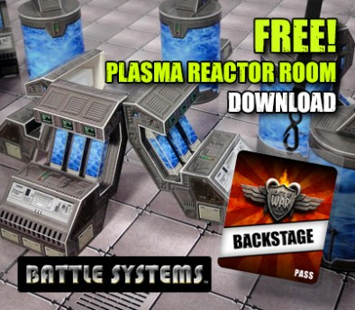 PLASMA REACTOR ROOM