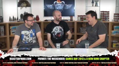 The Weekender: Games Day 2013 & A New BoW Chapter