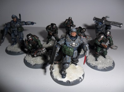 Axis Soldiers