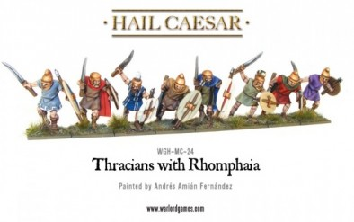 Thracians with Romphaia