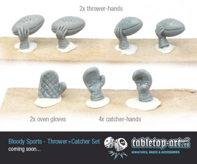 Thrower and Catcher Hands