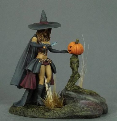 Witch & Pumpkin Minion #1