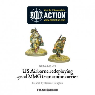 Airborne .30 Cal Redeploying