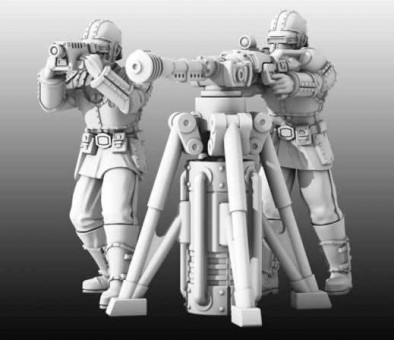 Dystopian Legions Heavy Weapon Team