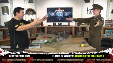 Flames of War FTW: Armies On The Table Part 1