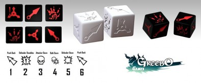 Hand of Death Dice