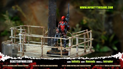 Game: Infinity Army: Nomads Model(s): Intruder