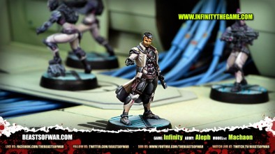 Game: Infinity Army: Aleph Model(s): Machaon