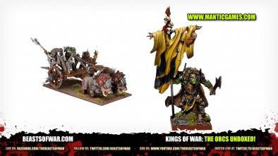 Kings of War: The Orcs Unboxed!