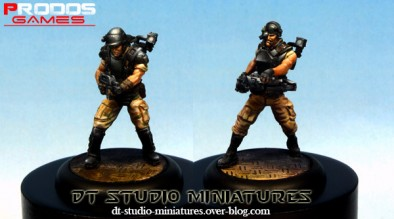 Marines Painted