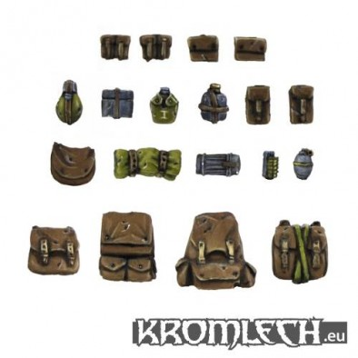 Militia Backpacks and Pouches