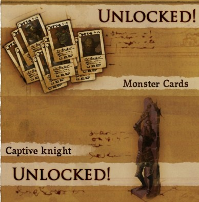Monster Cards & Captured Knight