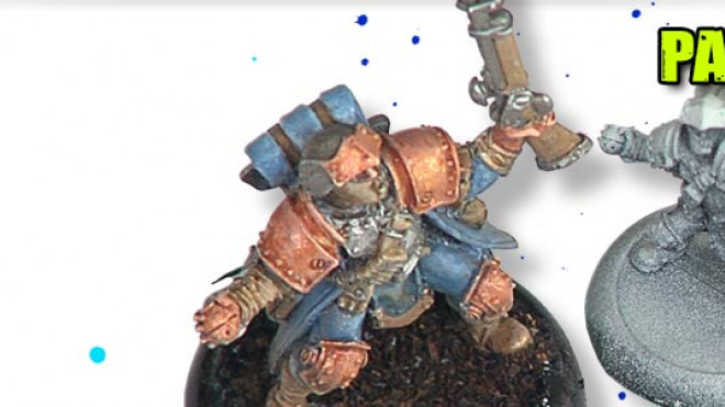 Painting A Cygnar Trencher Part 1