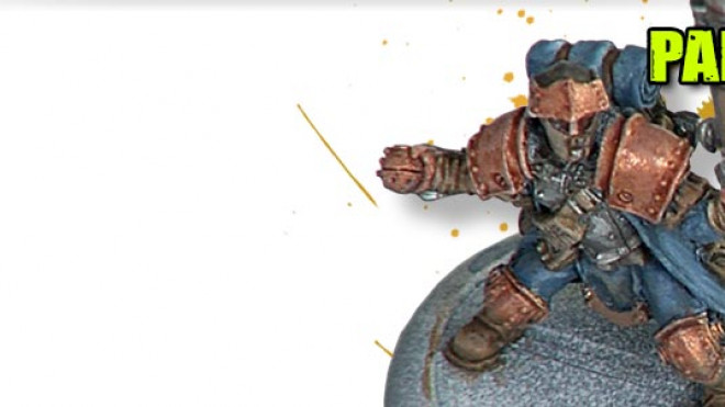 Painting a Cygnar Trencher Part 3