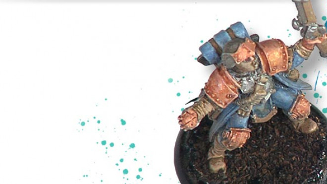 Painting A Cygnar Trencher Part 4