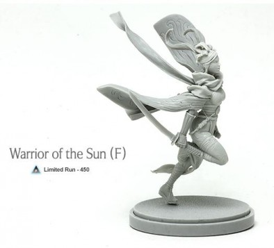 Warrior of the Sun Female