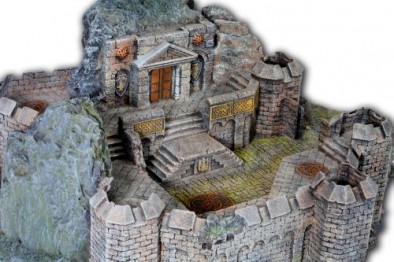 Fortress Close Up #3