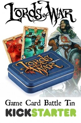 Game Card Battle Tin