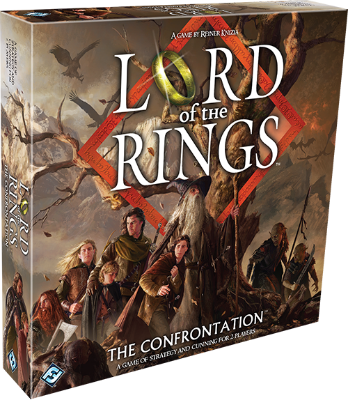 Lord Of The Rings The Confrontation Rulebook