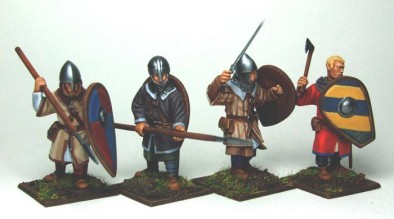 Norman Unarmoured Soldiers
