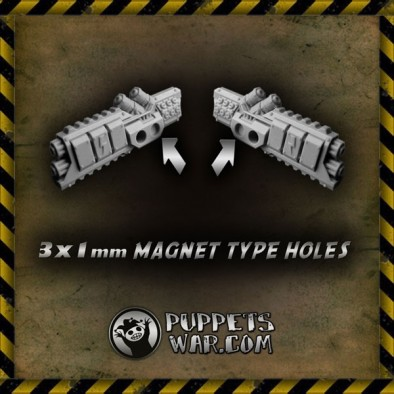 Nuclear Heaters Magnet Holes