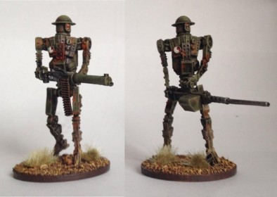 28mm British Automated Infantry
