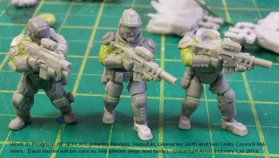 Afterlife Assault Infantry WIP