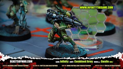 Game: Infinity Army: Combined Army Model(s): Gwailo (HRL)