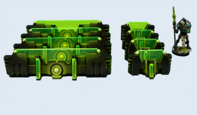 Cyber Fortifications Set