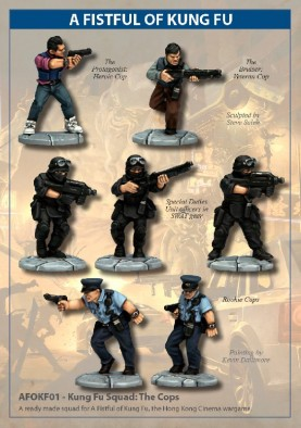 Fistful of Kung Fu Cops