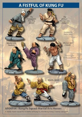 Fistful of Kung Fu Heroes
