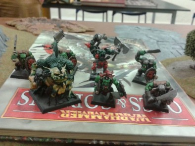 Orc & Goblin Warband